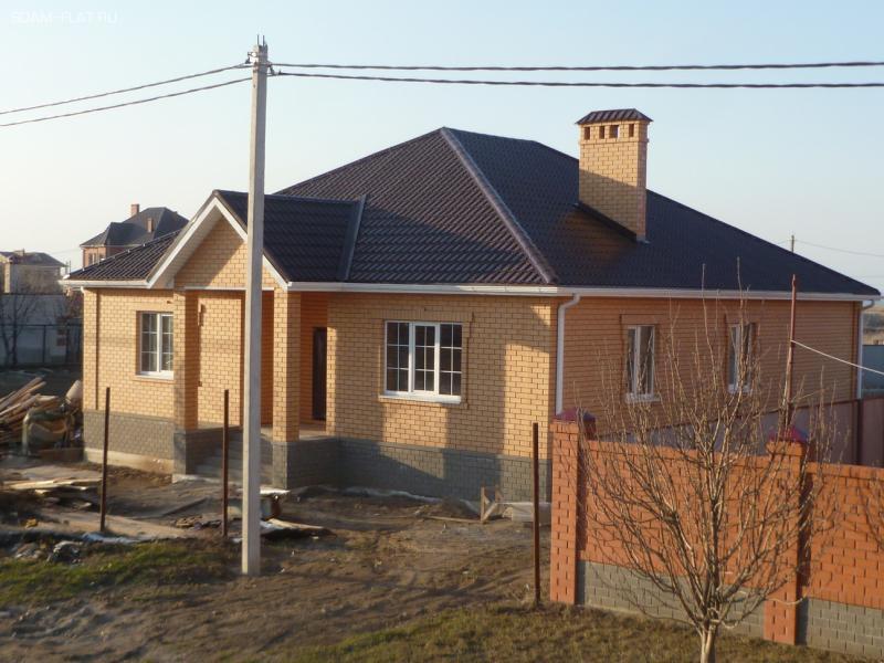 Строительство одноэтажных кирпичных домов