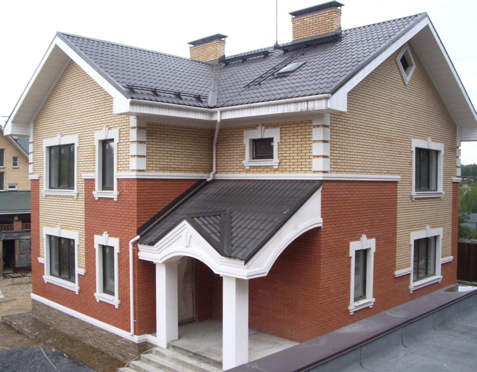 Строительство двухэтажных кирпичных домов
