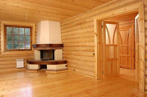 Отделка деревянных коттеджей