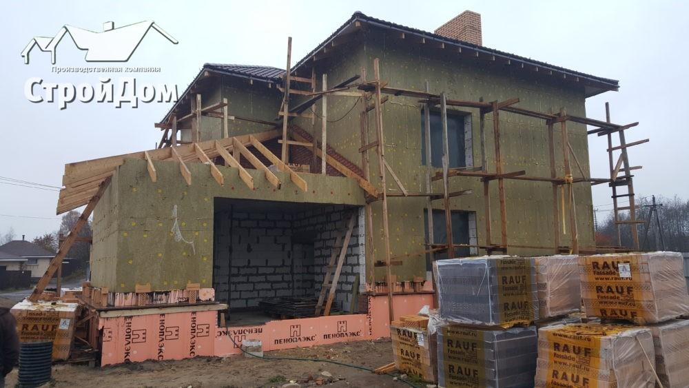 Строительство домов из газобетона под ключ в СПБ и Ленинградской области
