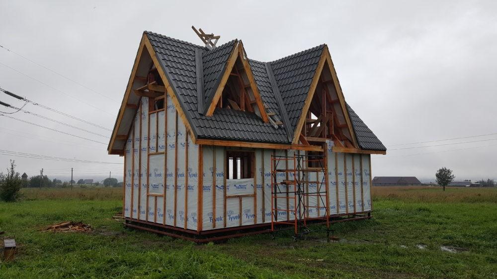 Строительство деревянных коттеджей под ключ в СПб и Ленинградской области