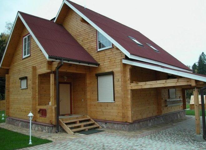 Дома из бруса: ряд преимуществ