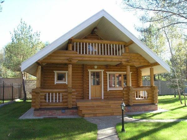Строительство деревянной дачи