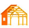 Этот дом по технологии каркасного строительства