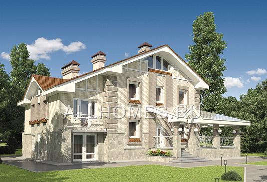 Проект дома K-217-3P