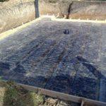 Строительство дома с цокольным этажом гидроизоляция плиты фундамента