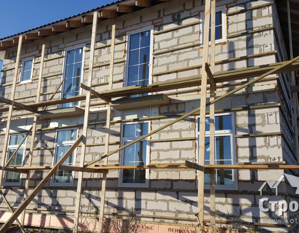 Новости строительства коттеджа в Пушкинском районе
