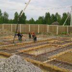 Строительство ленточного фундамента при строитетельстве цокольного подвального этажа укладка бетона