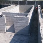 Строительство ленточного фундамента бетонные стены подвального этажа