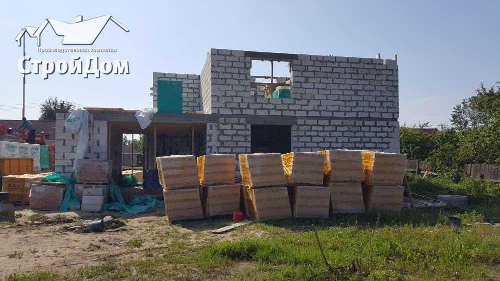 Строительство загородного дома из газобетона