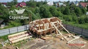 Строительства деревянного дома