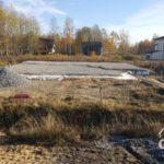 Строительство загородного дома из газобетона под ключ. Подготовка основания под фундамент