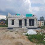Строительство второго этажа загородного дома из газобетона под ключ