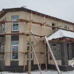 Строительство загородного дома из газобетона под ключ. Отделка фасадов.