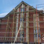 Строительство загородного дома из кирпича