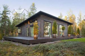 Финский каркасный дом из дерева - тренд строительства 2018 года