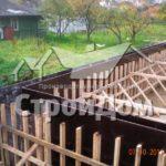Строительство дома с цокольным этажом в СПб армирование и опалубка стен цокольного подвального этажа