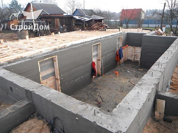 Строительство цокольных этажей в Санкт-Петербурге