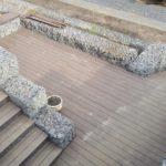 габионы терраса террасная доска лестница