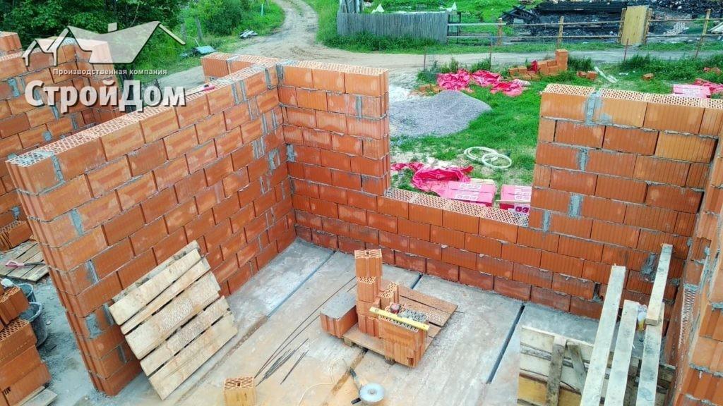 Строительство загородного дома, коттеджа из кирпича