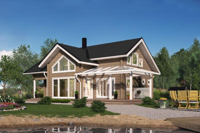 Проект дома VANAMO 141 A
