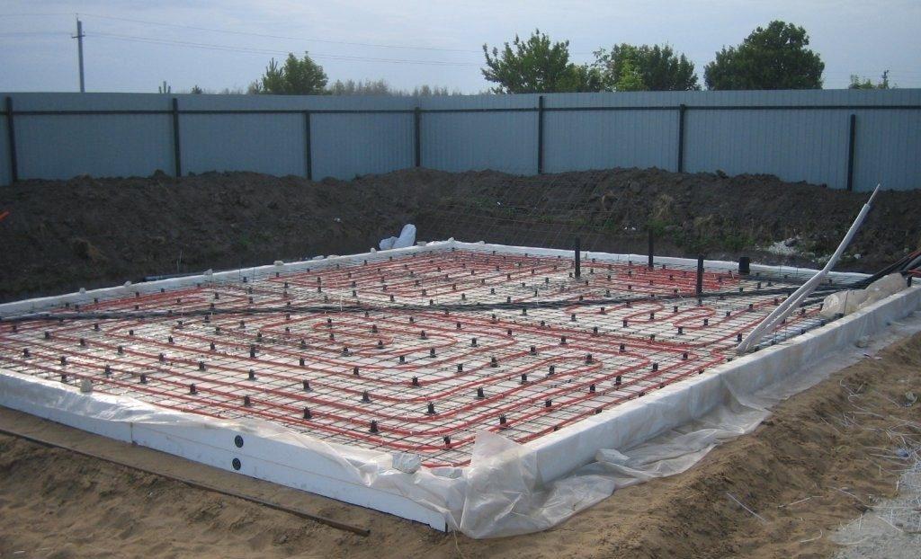 Плюсы и минусы строительства УШП (утепленной шведской плиты)