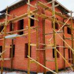 Строительство кирпичного дома зимой