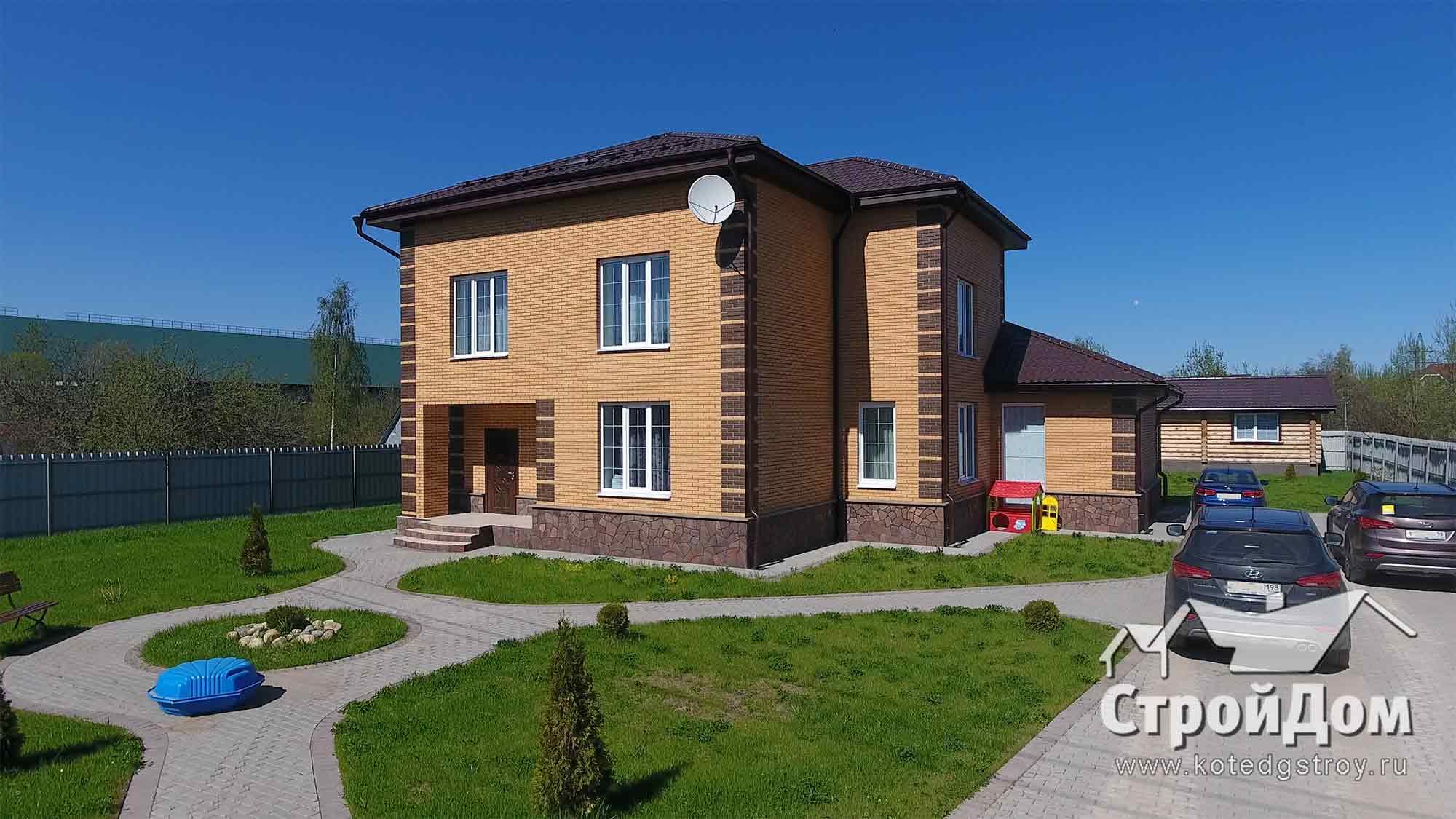 Строительство кирпичных домов под ключ в СПБ и Ленинградской области