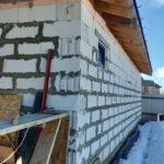 Отделка фасадов имитацией бруса и натуральным камнем в Красном Селе и Ломоносовском районе СПб