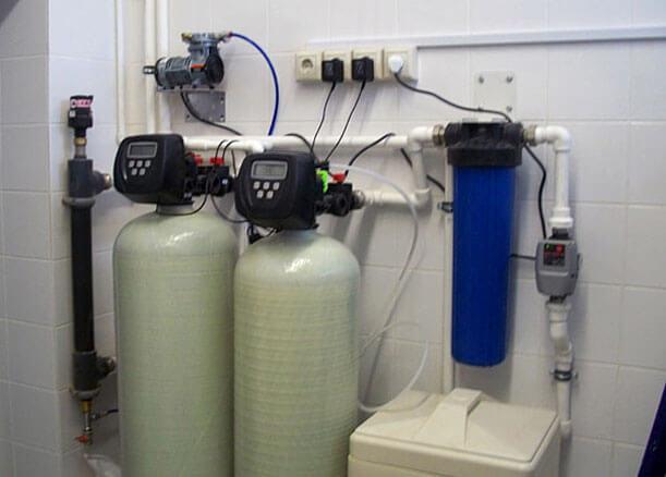 Очистка и фильтрация питьевой воды из скважины