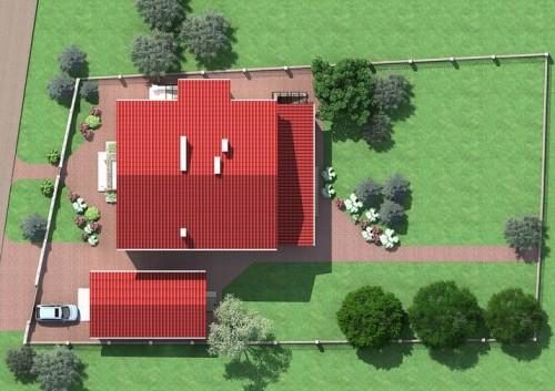 Экономия площади участка при строительстве дома