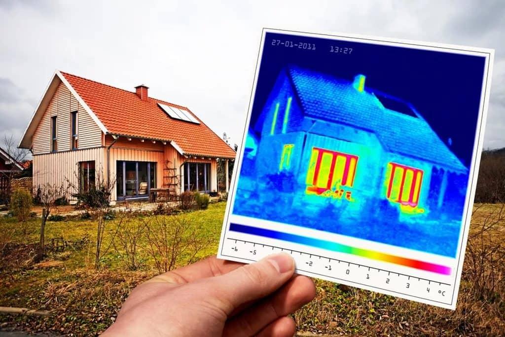 Тепловизионное обследование домов, зданий и сооружений