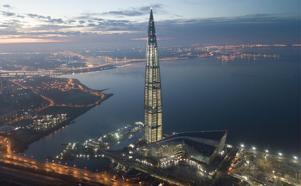 Как строился питерский небоскрёб Лахта-Центр. Идеальный пример зимнего строительства в условиях Санкт-Петербурга